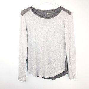 Madewell Tshirt Whisper Cotton Long Sleeve Shirt